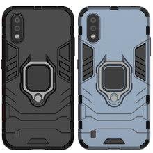 Caso resistente à queda para samsung galaxy a01 defender armadura escudo capa