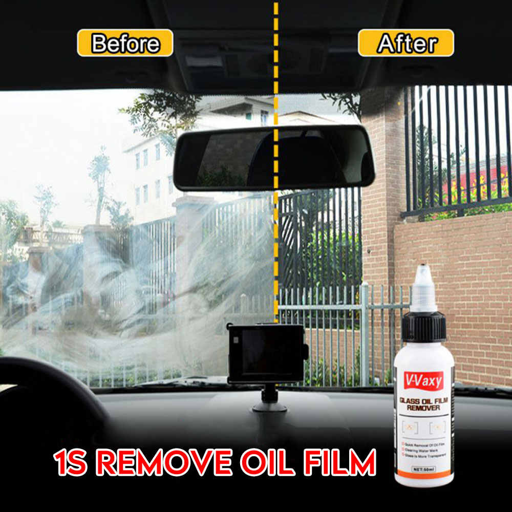 50 ミリリットルノズルユニバーサル車油膜除去アンチグレア防油ガラスコーティング剤防水クリーニングスプレー自動ケア