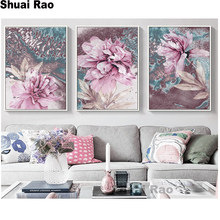 Round diamond mosaic 5d Abstract Painting embroidery Nordic Decoration Home Wall Art Flowers diamond painting sale,wall decor,