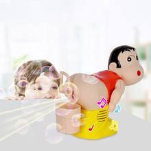 Детская Электрическая воздуходувка для мыльных пузырей машина