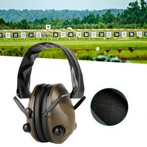 Image 4 - Tactique électronique tir antibruit Sports de plein air Anti bruit réduction casque casque de protection pliable protection auditive