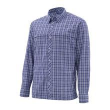 S* mms Мужская рыболовная рубашка LS клетчатая рубашка быстросохнущая UPF50 УФ рыболовная одежда рубашки мужские s Camisa Masculina Размер США M-3XL