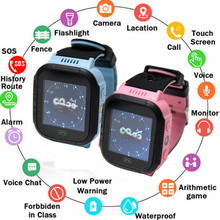 Waterproof Anti-lost Safe GPS Tracker SOS Call Kids Smart Watch SiM Card Can Answer Dial Call Smartwatch For Children(China)
