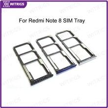 Witrigs для Redmi Note 8 sim-карты лоток держатель Слот гнездо запасные части