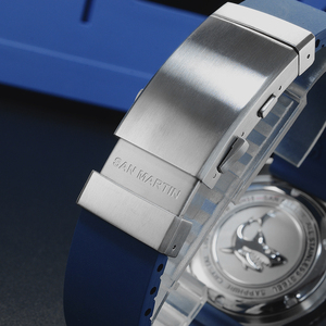 Image 5 - サンマーティンメンズヴィンテージステンレス鋼ダイバー自動発光ゴムリストバンド 200 メートル防水ダイビング腕時計 SN0039
