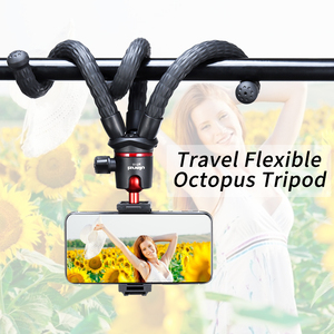 Image 5 - Ulanzi MT 11 Travel Flexible Octopus Tripod for Smartphone DSLR SLR Vlog Tripod for Camera iPhone Huawei Portable 2 in 1 Tripod