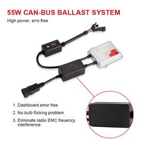 Image 4 - 1PC 70W 55W 35W HID Slim Ballast F7 Q5 Fast Bright C5 Error Free CANBUS Ballasts Control H1 H7 H8 H9 H11 9005 9006 H4 Headlight