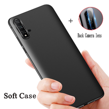 For Samsung Galaxy Note 10 Case Soft Silicone Matt Back Cover For Samsung Note 10 Pro Plus Phone Cases +Back Camera Lens 12x telephoto lens w tripod back case for samsung galaxy note 3 black silver