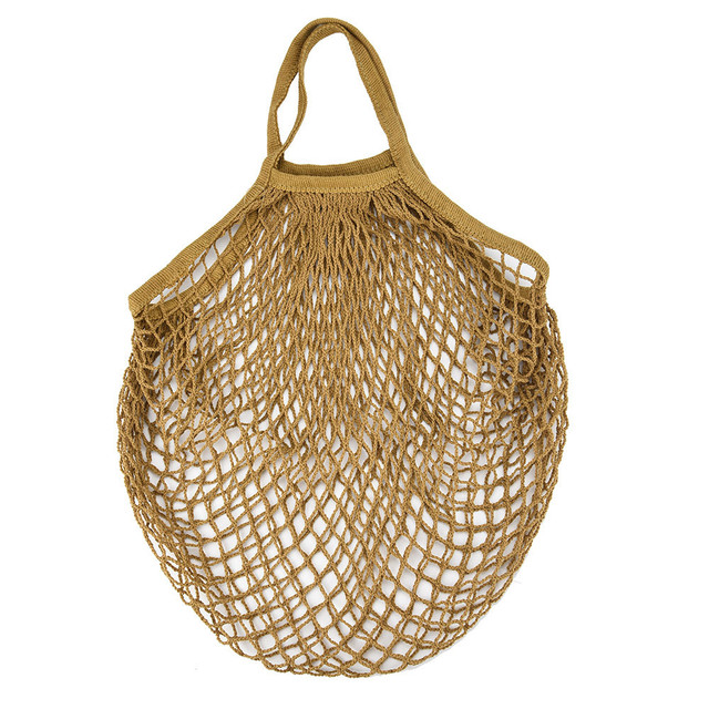 Mesh Net Bag String Fruit Storage reusable shop bags eco Foldable Portable Beach Bag Kid Basket Storage Bag Dropshipping 3