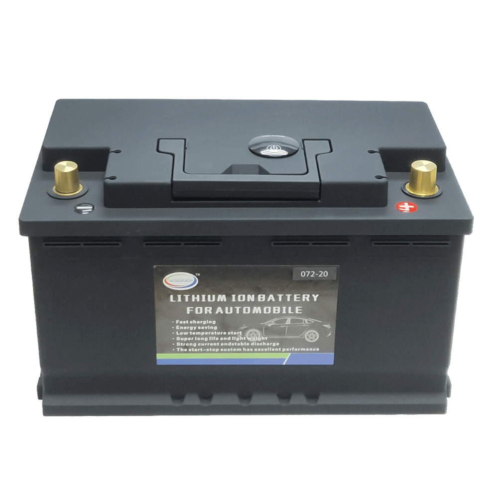 Car Lithium Battery 12V 70Ah LiFePO4 Battery Lithium Phosphate Ion Automobile Battery LiFePo4 Auto Battery