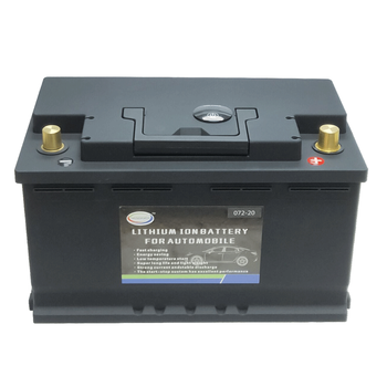 Car Lithium Battery 12V 70Ah LiFePO4 Battery Lithium Phosphate ion Automobile Battery LiFePo4 Auto Battery image