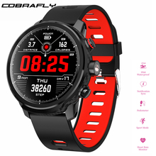 Cobrafly L5 Smart Watch Men Outdoor Heart Rate Blood Pressure Monitor IP68 Waterproof Fitness Tracker Multiple Sport Mode