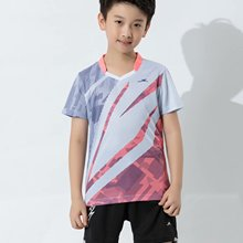 Jersey Badminton-Set Tennis-Tabletennis Child Volleyball Quick-Drying Jogging-Team Polyester