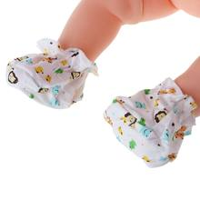 1 Pair Baby Socks Walk Training Cover Foot Protection Cartoon Print Newborn Care DXAD(China)