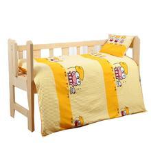 Kidlove/комплект из 3 предметов, мягкая хлопковая кроватка, Комплект постельного белья с рисунком из мультфильма, Комплект постельного белья без наполнителя