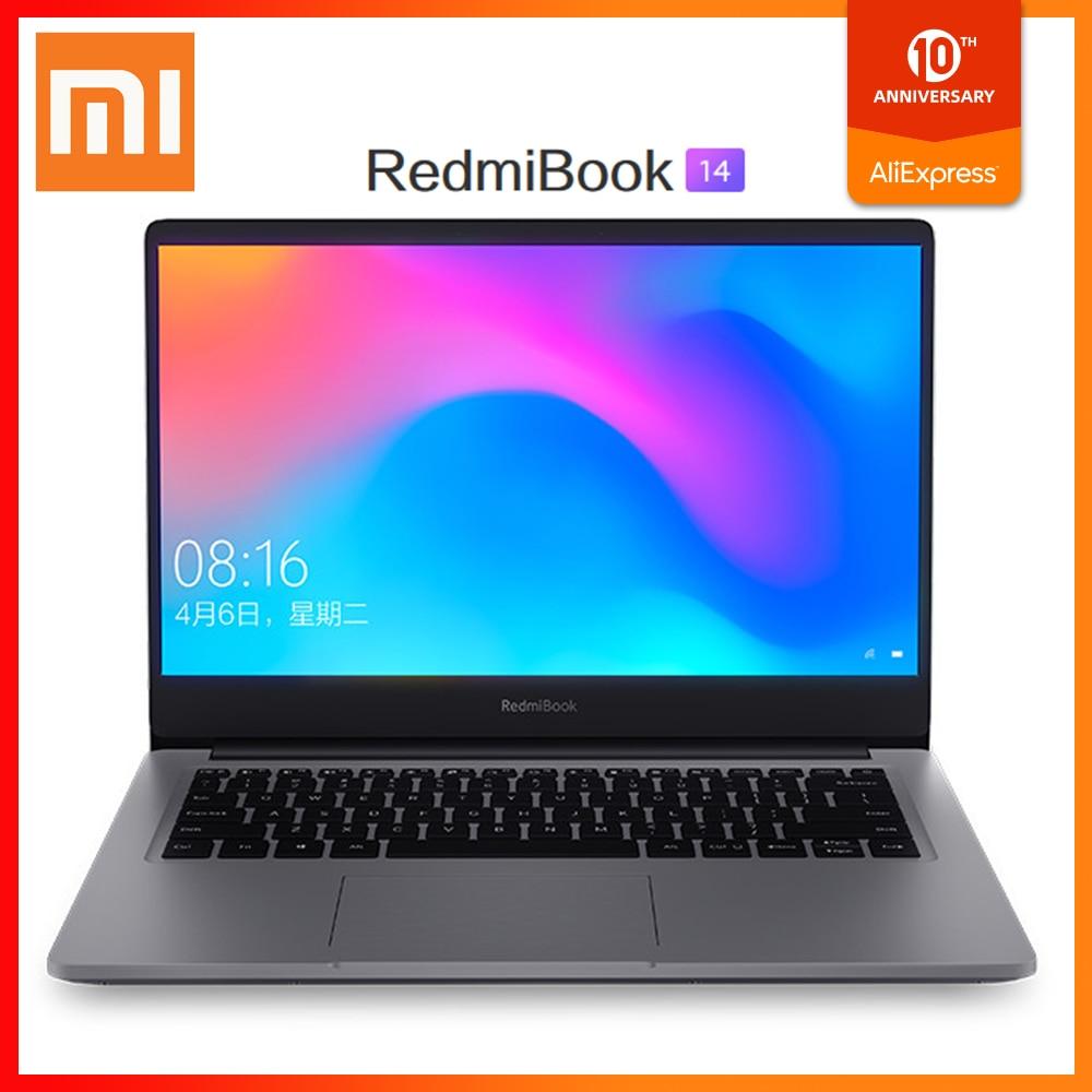 Origianl Xiaomi RedmiBook 14 Enhanced Laptop Windows 10 Intel Core I5-10210U 4.2GHz CPU 8GB DDR4 RAM 512GB SSD Notebook PC