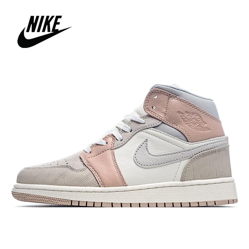 Original NIke Air Jordan 1 Mid Milan  Men's and Women's Basketball Shoes Size 36-45 CV3044-100