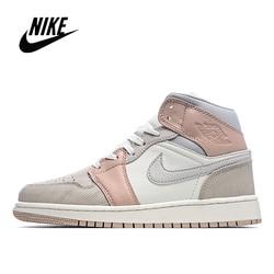 Zapatillas de baloncesto para hombre y mujer NIke Air Jordan 1 Mid Milan, talla 36-45 CV3044-100