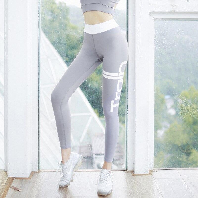 2019 Peach Hip Print Yoga Pants Running Sports Fitness Pants Outdoor Quick Drying Buttock Lifting Leggings Women's