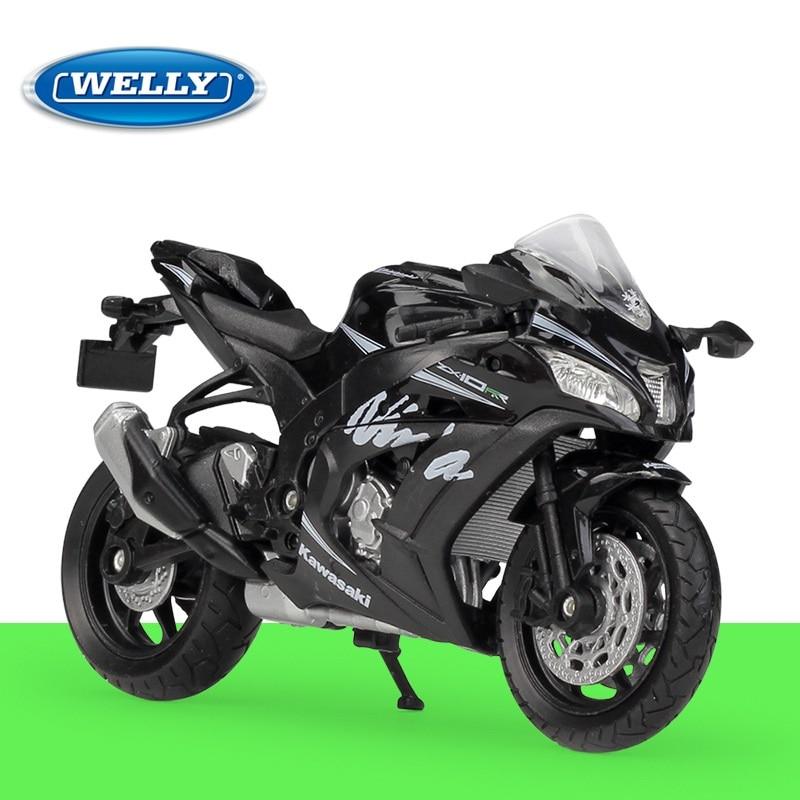 1:18 Welly Kawasaki Ninja ZX10-RR 2017 Diecast Motorcycle