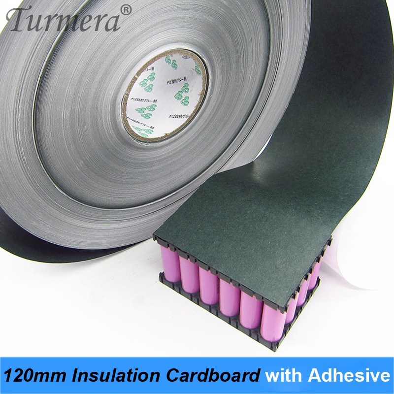 1m 120mm 18650 Battery Insulation Cardboard With Adhesive For 18650 Lithium Battery Pack Cell Insulating Glue Patch Cardboard