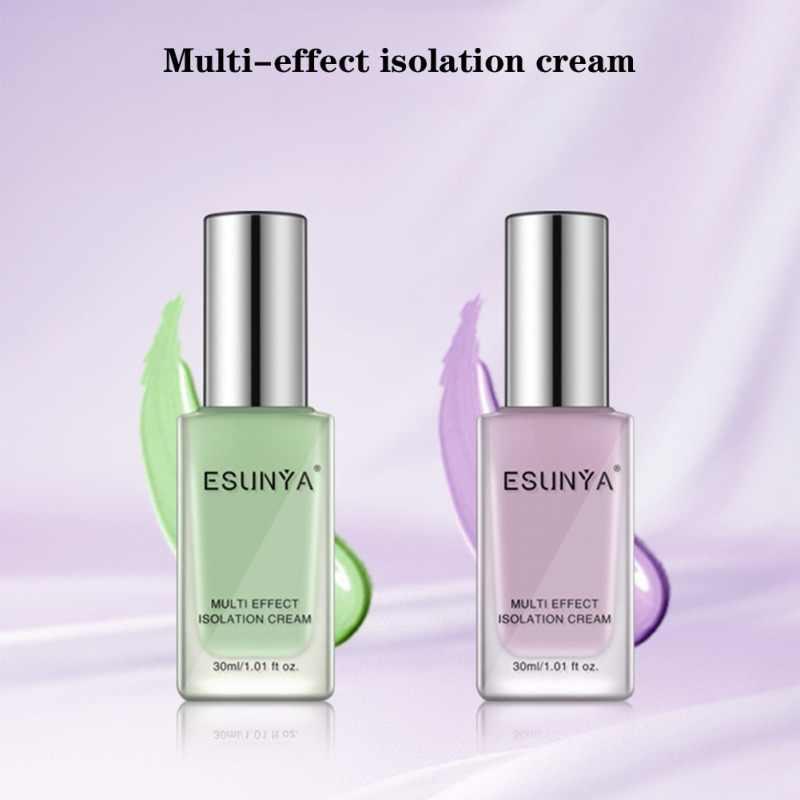 Multi-effet Isolation crème hydratante couverture défauts éclaircir la couleur de la peau crème de fond de teint