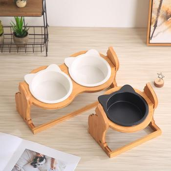Height Adjustable Holder for Cats Bowl