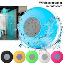 Mini evrensel Bluetooth hoparlör taşınabilir su geçirmez kablosuz Hands-Free hoparlör duş banyo yüzme havuzu araba plaj açık