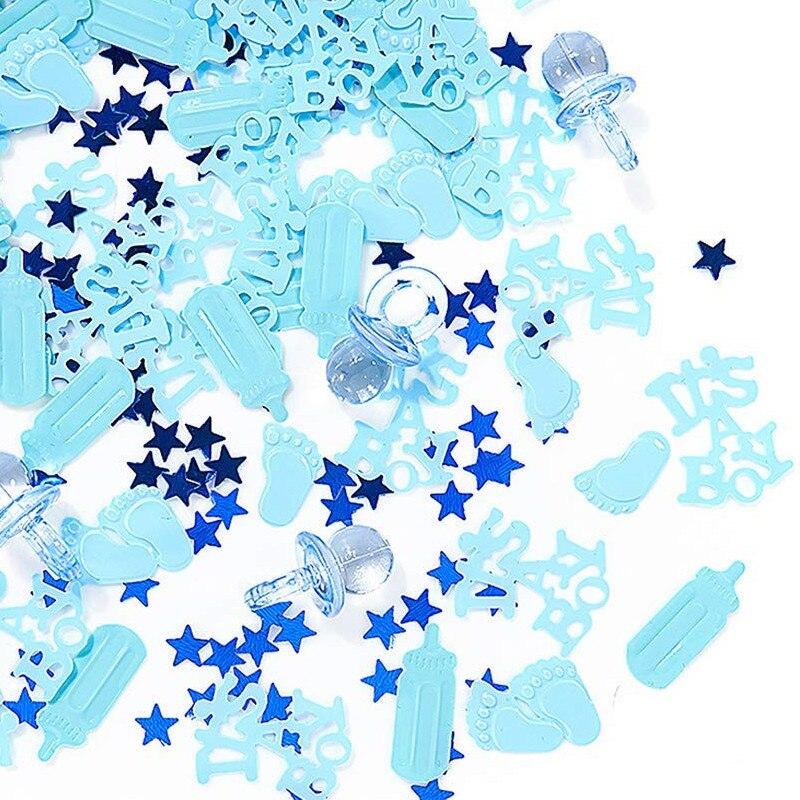 It Is A Boy вечерние Confetti Baby Shower Confetti настольное украшение для вечеринки на день рождения It's A Girl Baby Shower ASD034