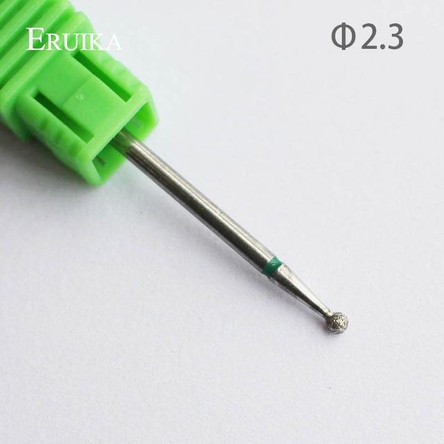 ERUIKA 8 Type Diamond Nail Drill Bit Rotary Burr Bit Pedicure Tools Electric Nail Manicure Machine Drill Accessories Nail Mills 4