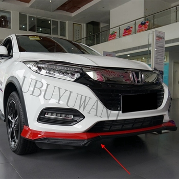 For Honda HRV VEZEL 2019 Rear and Front Spoiler Car Diffuser Bumper Protector Decoration Skid Plate Bumper Cover