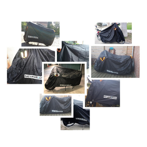 Image 5 - 210D High Quality Waterproof Outdoor Motorcycle Moto Cover Electric Bicycle Covers Motor Rain Coat Dust Suitable for All Motors
