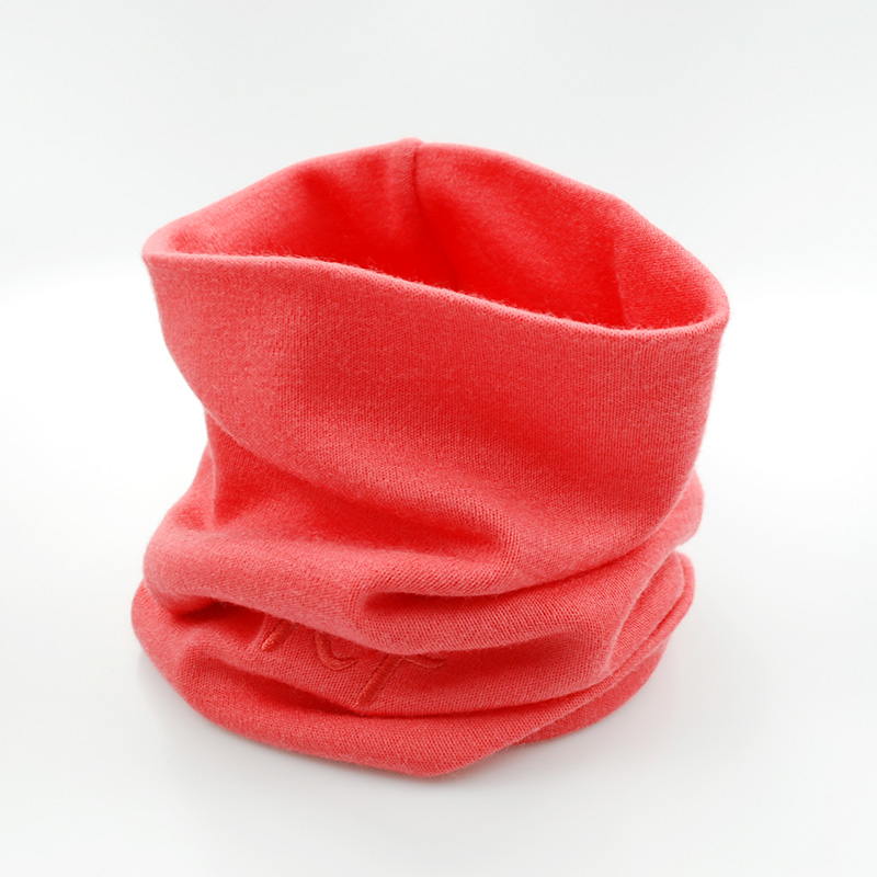 Merino Wool Thermal Thick Kids Tube Scarf Boys Girls Adult Also Wear Outdoor Ring Neckerchief Collar Muffler