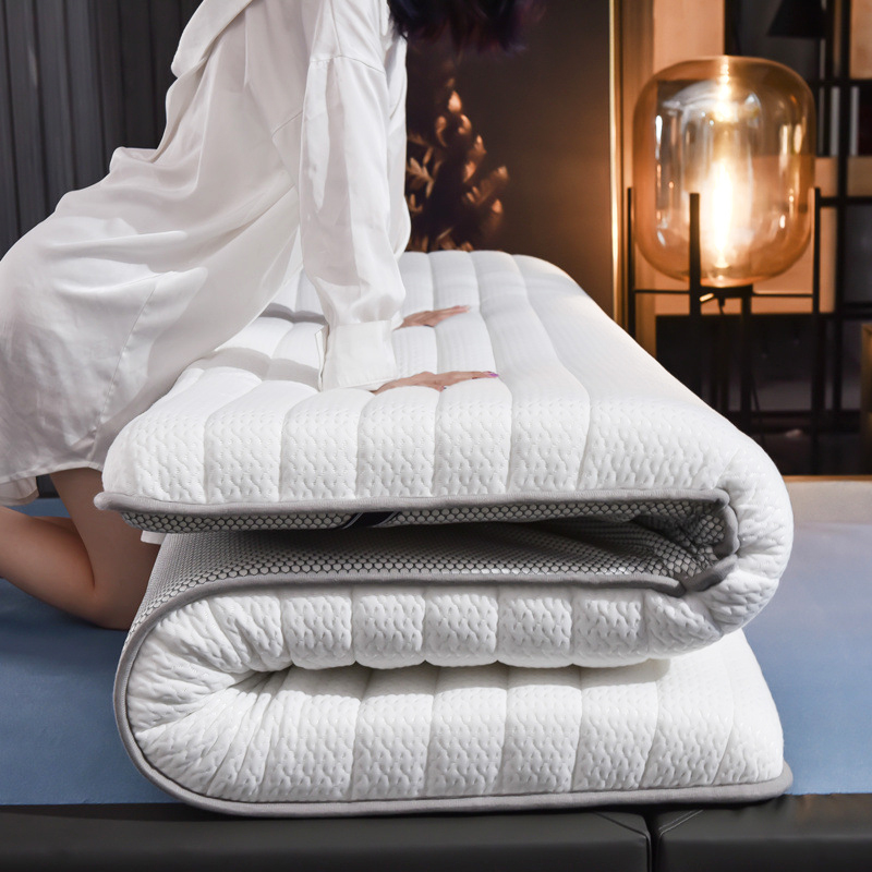 Latex Memory Foam Mattress With Breathable Case 6CM Thickness Twin Queen King Bed Body Massage Pressure Release Tatami Mattress