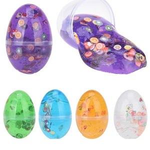 Egg-Slime-Toys Antistress-Toys Putty Sand-Hand Dynamic Kids Easter for Gift Rubber Fruit