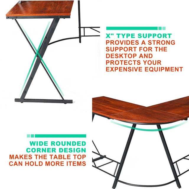 1 L-shaped Corner Laptop Desk  4