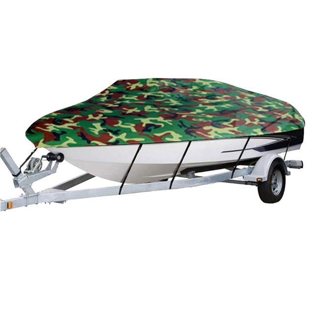 Cubierta de barco de protección del clima de la cubierta completa protección solar protección a prueba de polvo resistente a los arañazos Universal para barco accesorios 11 22ft