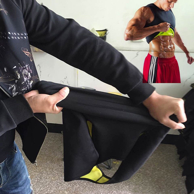 3XL Slimming Belts Belly Men Slim Vest Body Shaper Neoprene Abdomen Fat Burning Shaperwear Waist Sweat Corset Weight 4