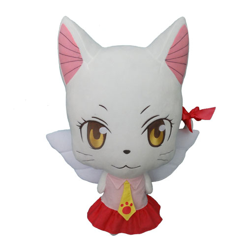 Cute Fairy Tail Carla Plush Toy Happy Charles Soft Stuffed Plushie Toys Anime Cartoom Pillow For Girls Children Birthday Gift