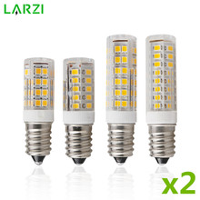 2pcs lot Mini E14 LED Lamp 3W 4W 5W 7W AC 220V 230V 240V LED Corn Bulb SMD2835 360 Beam Angle Replace Halogen Chandelier Lights cheap LARZI Cool White(5500-7000K) Ceramic Bulb living room 220V-240V 250 - 499 Lumens 10000 Other Epistar ROHS 360° 3W 4W 5W 7W