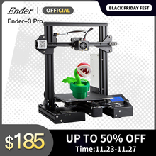 Ender 3 Pro imprimante 3D Kit reprendre hors caimant construire plaque grande taille dimpression MW alimentation Ender 3prox crealité 3D