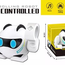 Educational Multi-functional Electric Voice-activated Tumbling Intelligent Kids Toy Robots