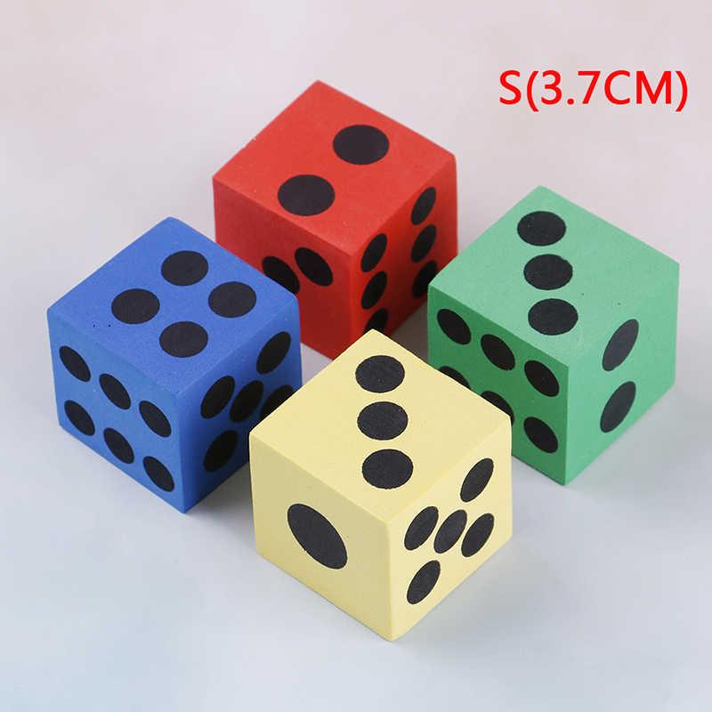 1 Pcs החדש צבעוני 6 צדדי עגול פינת קוביות משחק שולחן משחק בידור ספקי