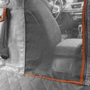 Image 3 - Pet Träger Für Hunde Wasserdicht Hinten Zurück Durchführung Hund Auto Sitz Abdeckung Hängematte Matten Transportin Perro coche autostoel hond auto