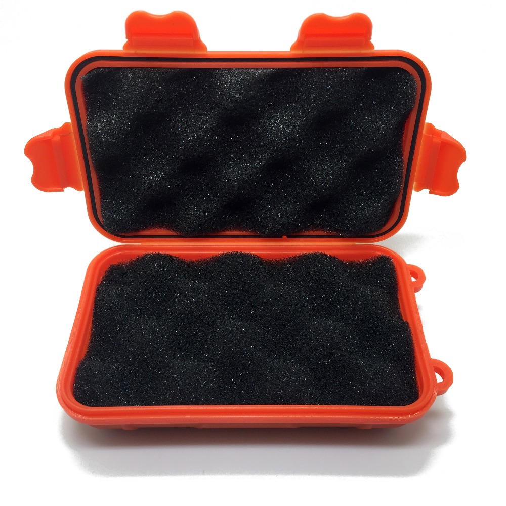Открытый противоударный Водонепроницаемый ящик с набором для выживания герметичный чехол держатель для хранения спички небольших инструм...