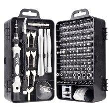 135 in 1 Screwdriver Set Bit Multifunctional Precision Mobile Phone Repair Equipment Hand Tool Torx