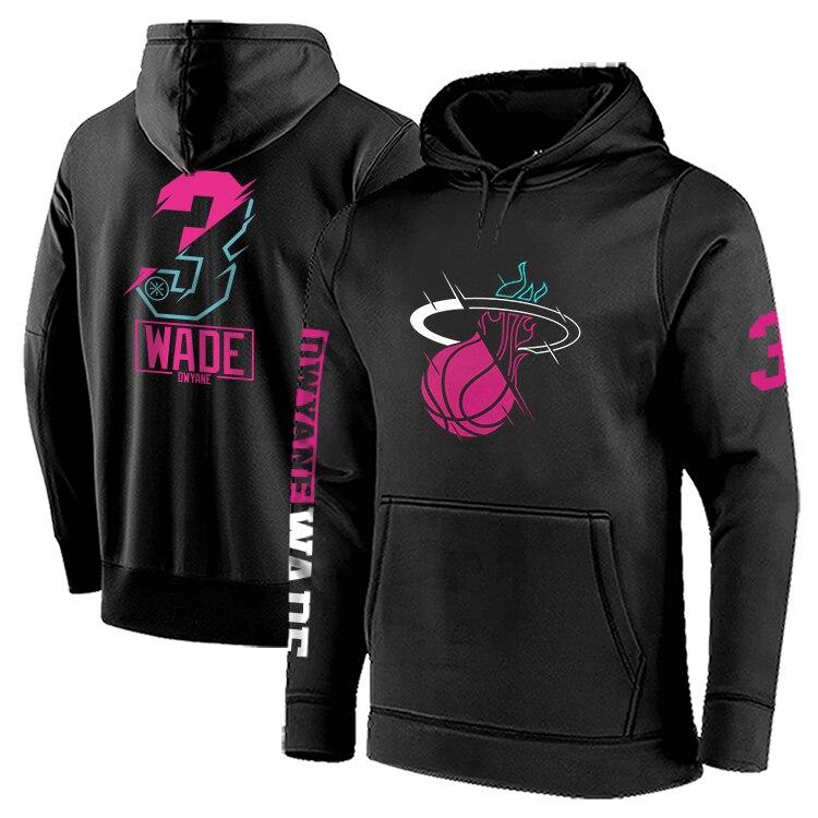 Dpoy Brand Basketball Hoodies Sweatshirt Cotton Fleece Sports Swear Eastern Team Training Loose Code For Men Street Hiphop Style