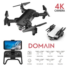 Folding Quadcopter Drone With Camera HD Wide-angle 4K Drone Helicopter Optical F