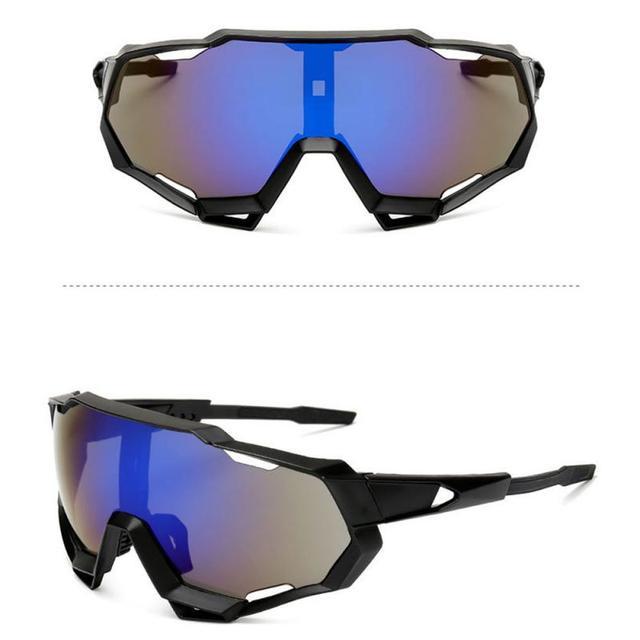 Prova e computador à prova de explosão profissional polarizado óculos de ciclismo óculos de bicicleta esportes ao ar livre óculos de sol uv 6