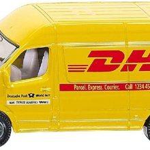 1085, Postwagen, Metall/Kunststoff, Gelb, DHL-Optik, Vielseitig einsetzbar